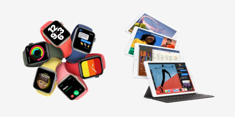 1 cover iPads  Apple Watches