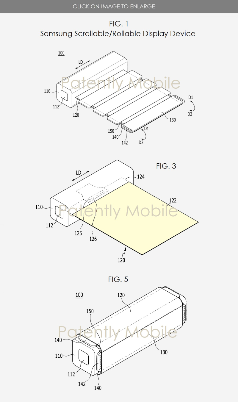 4 samsung scrollable display device