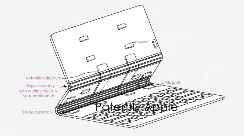 1 Cover new hinge system Apple patent