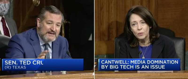 1 Cover (R) Cruz + (D) Cantwell agree to Subpeona