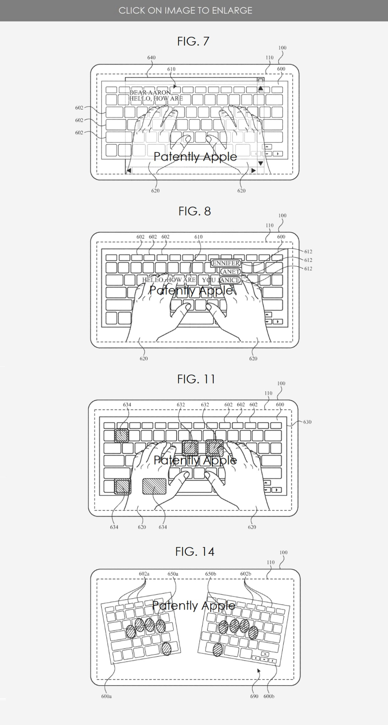 3 keyboard used with HMD