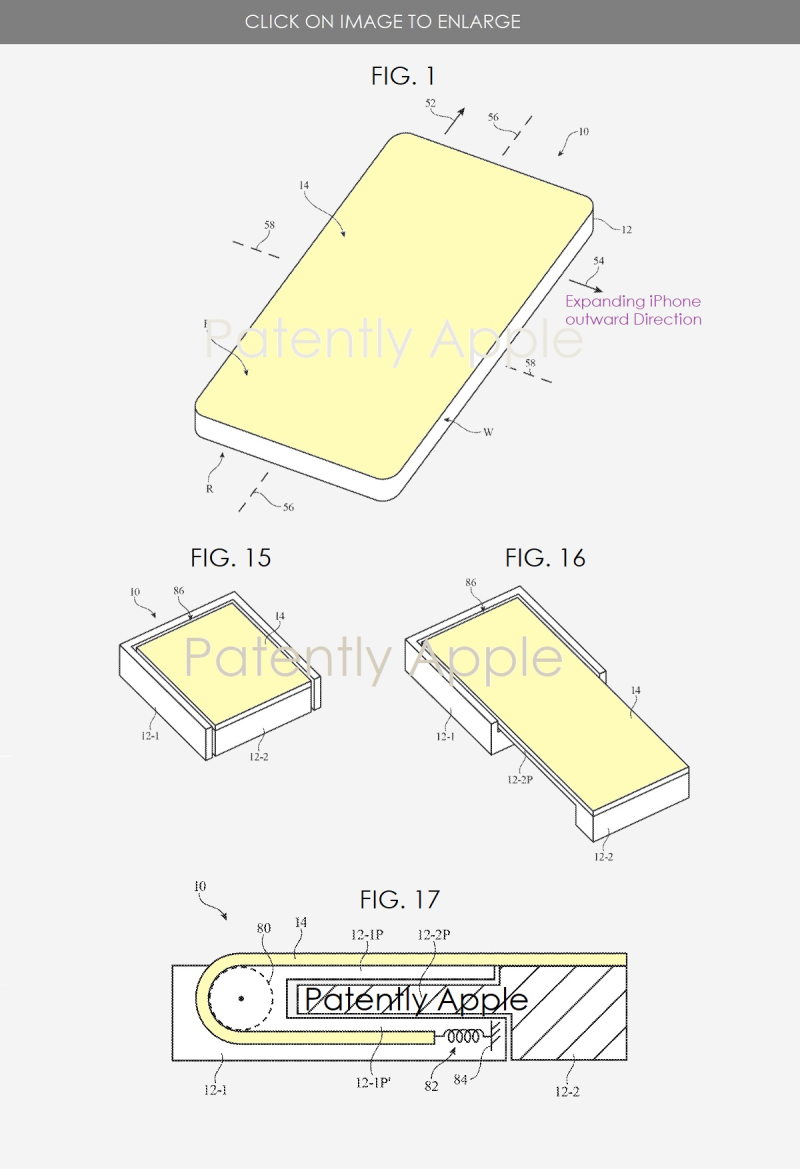 3 Expandable iPhone Display