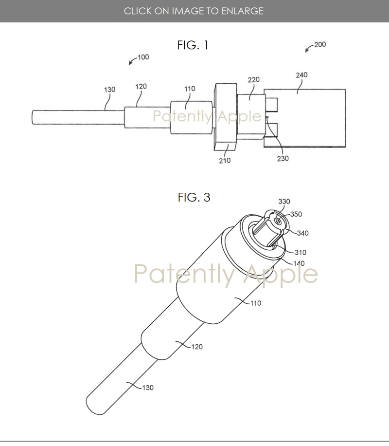 2 Apple Connector patent figs 1 & 3