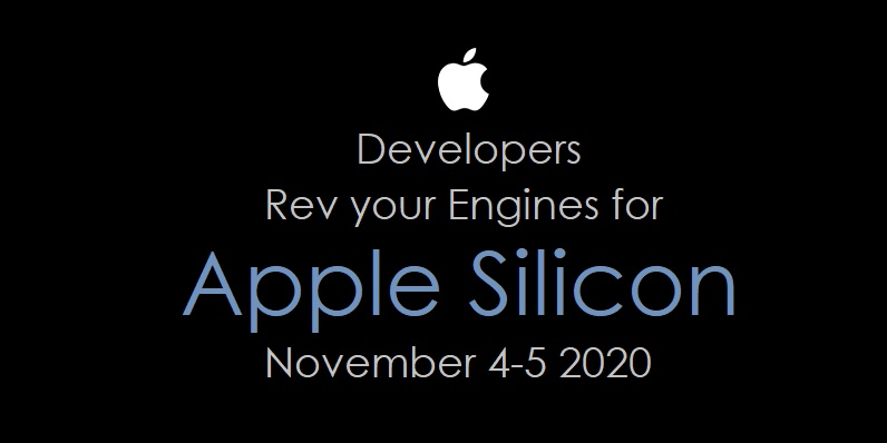 1 Cover Developer Training for Apple Silicon