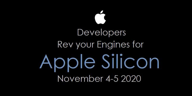 1 Cover Developer Training for Apple Silicon