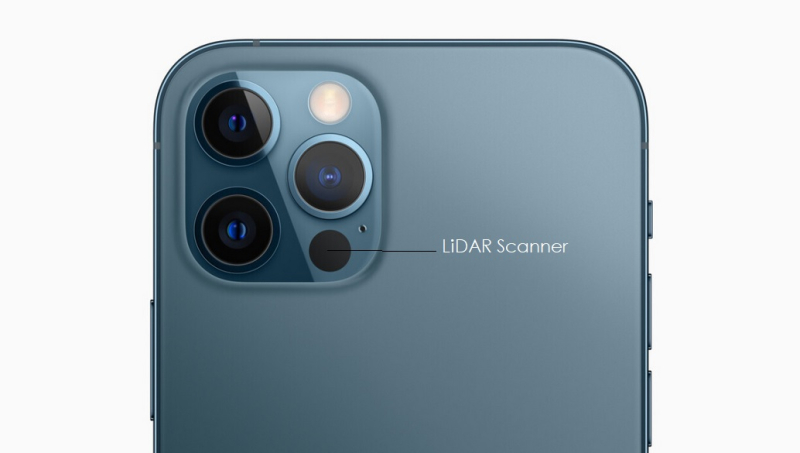 1 cover iphone 12 pro LiDAR Scanner