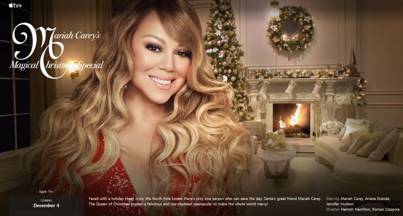 1 x cover Mariah Carey's XMas show