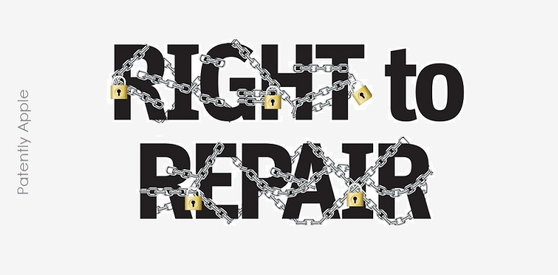 1 x cover Right to Repair