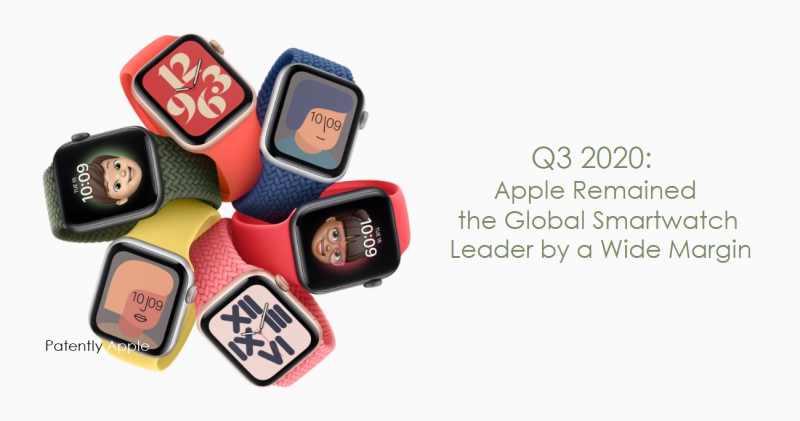1 cover - Apple Watch #1 Globally Q3 2020