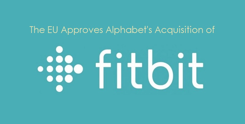 1 x cover fitbit  Alphabet acquisition of Fitbit approved