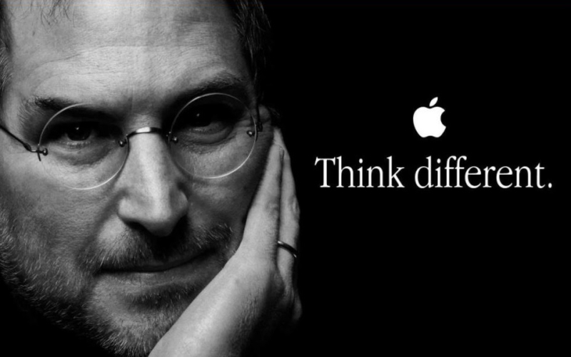1 cover Think Different  the late Steve Jobs