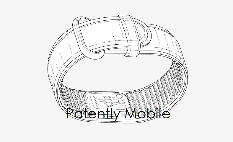 1 cover Google design patent fig for fitness tracker