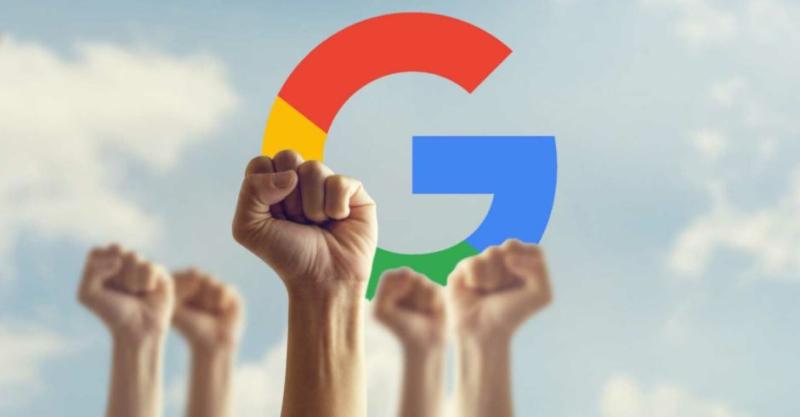 1 cover Google  Employees Unionize