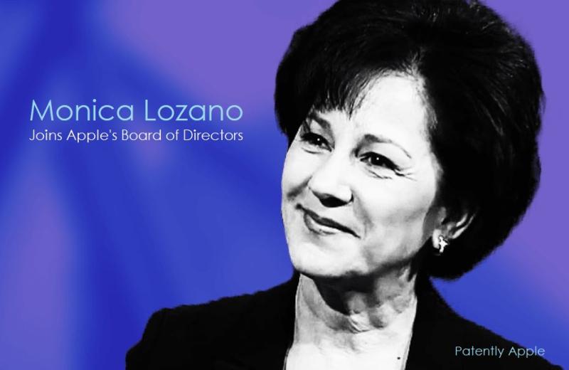 1 x cover new Apple Board Member Jan 05  2021 - Monica Lozano