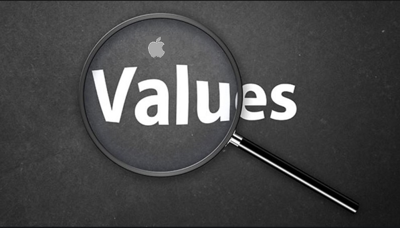 1 x Cover - Corporate Apple Values