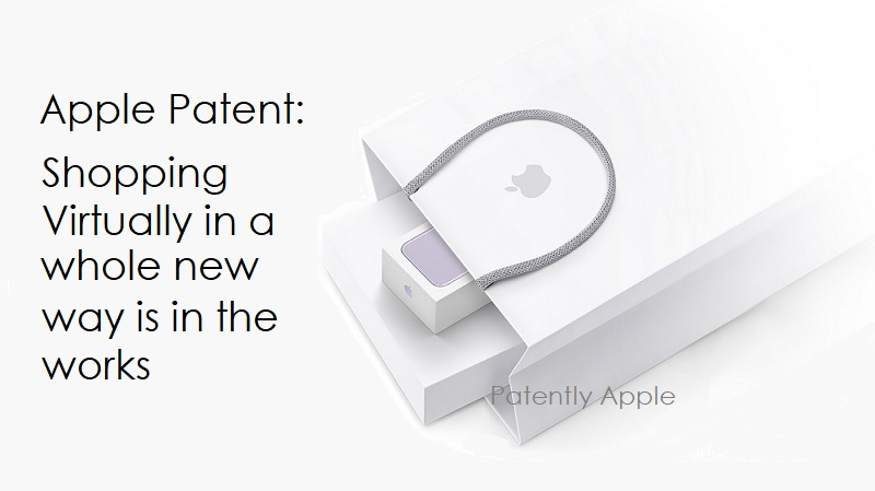 1 x Cover  Shopping experince patent  Apple