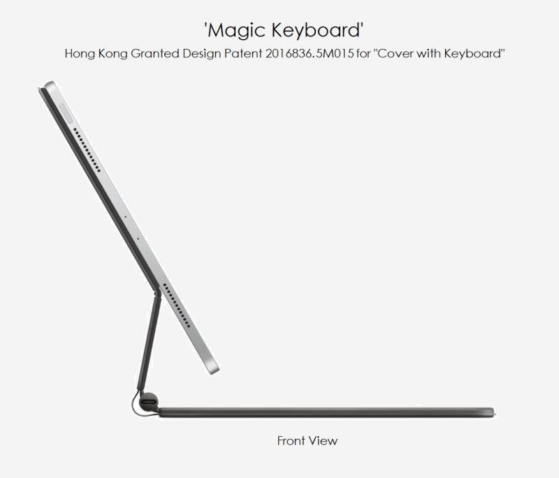 5 Apple design patent 2016836.5M015 Magic Keyboard with iPad