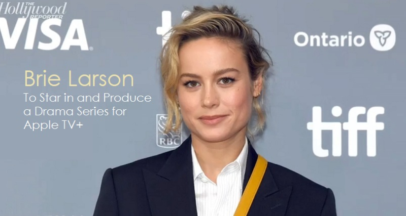 1x  cover Brie Larson  Apple TV+