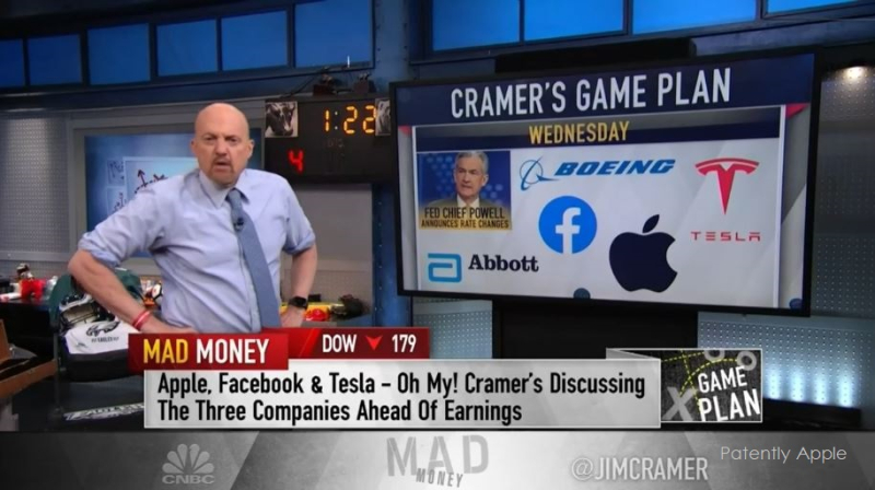 1 Cover  Jim Cramer on Apple