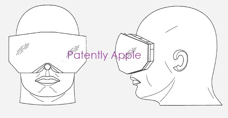 1 cover Apple patent figure of a MR headset