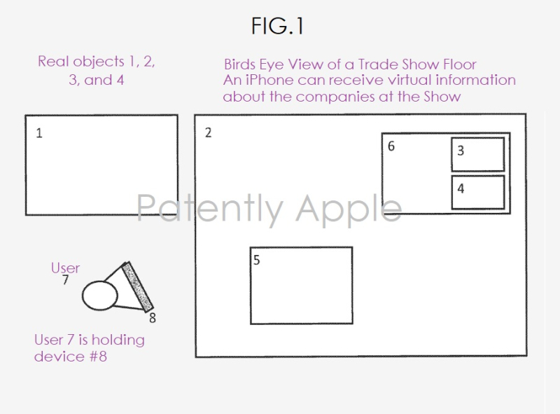 4 Augumented reality patent fig. 1