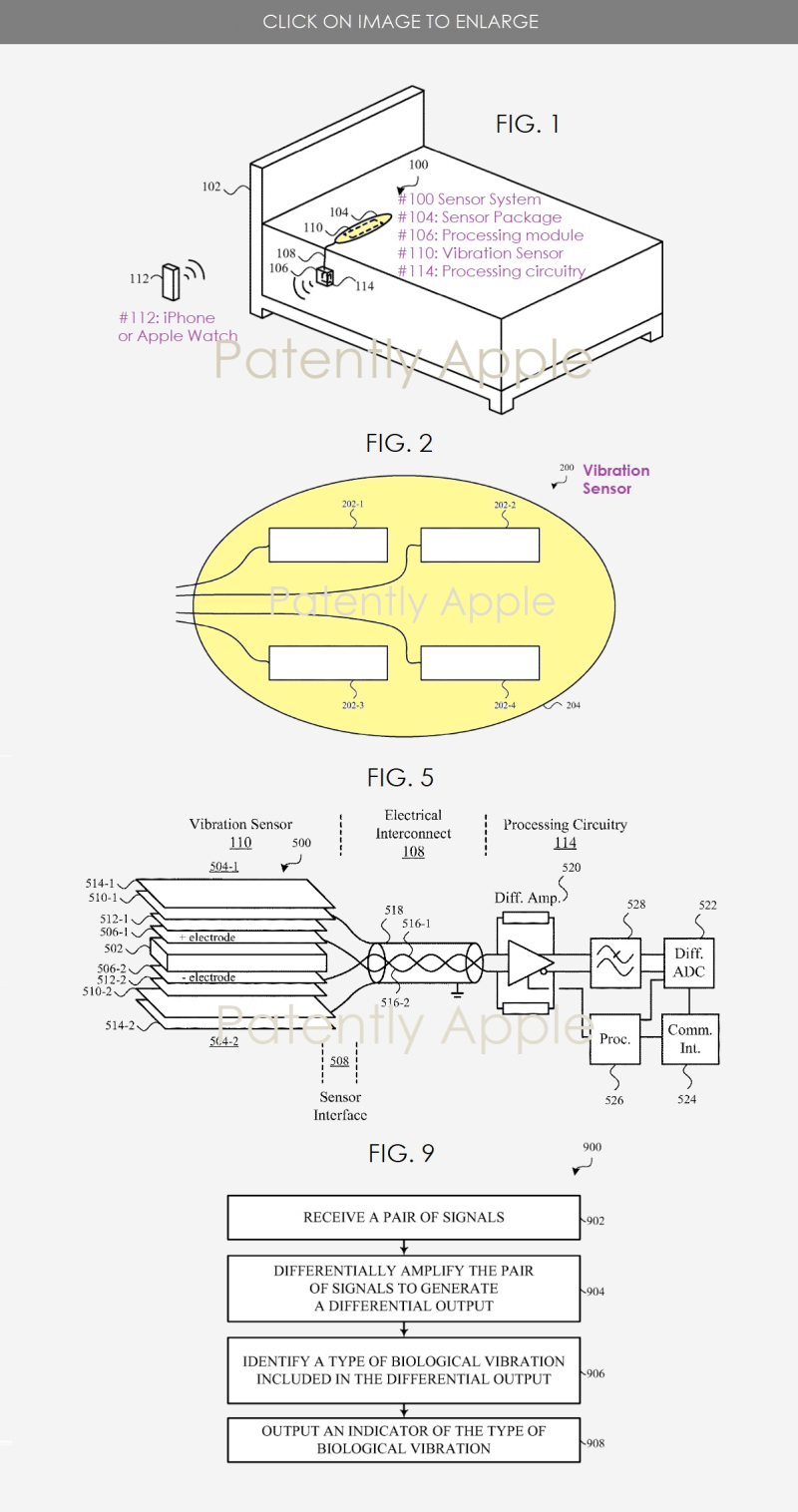2 Apple beddit device patent report