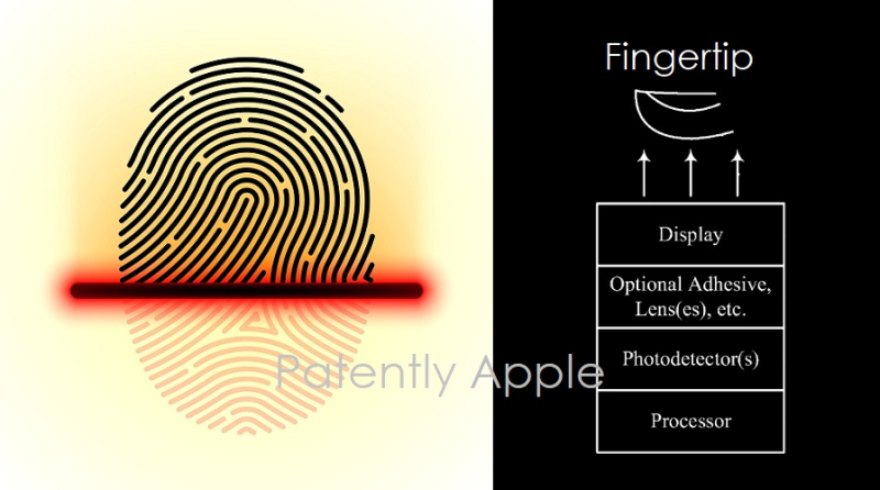 1 x cover - Photodectors for Touch ID and beyond