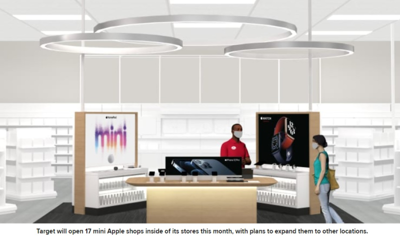 1 Cover - Target to Promote Apple devices in 17 stores ...