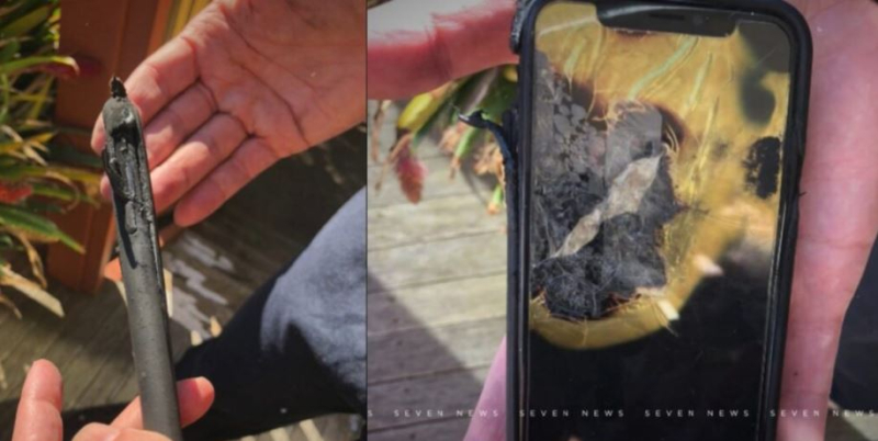 1 cover exploding iPhone