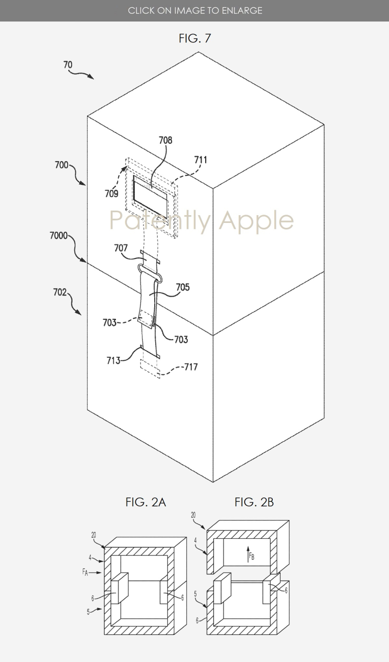 4 Apple Patent figures for Mac Pro custom box construction