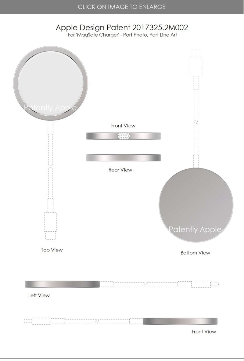 2 MagSafe Charger design patent  Hong Kong 3-12-2021