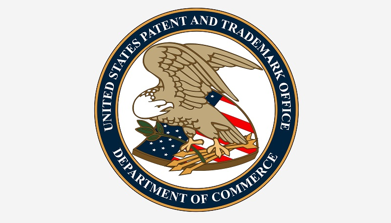 1 x COVER US PATENT OFFICE