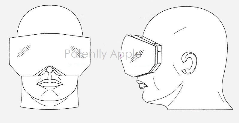 1 x cover Apple headset patent figure