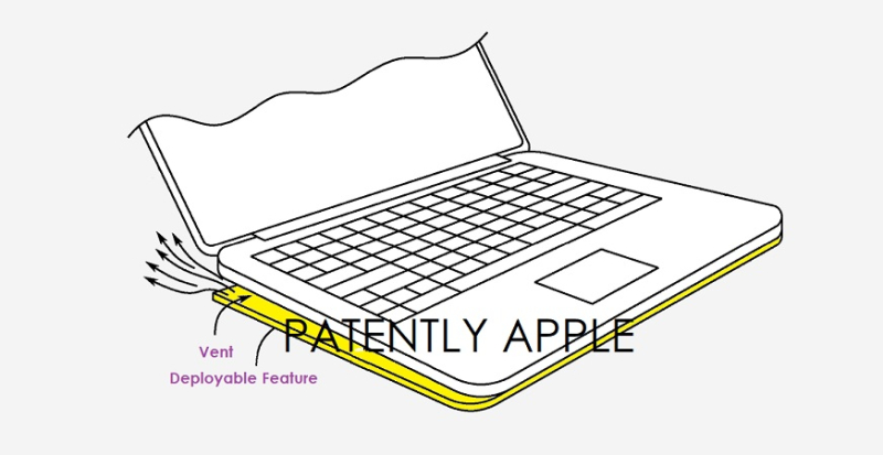 1 cover Macbook with deployable vent +
