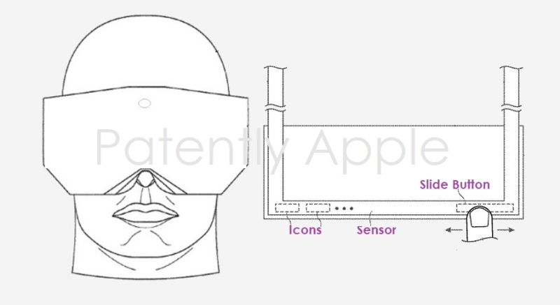 1 x cover headset controls include touch zones and in-air gesturing