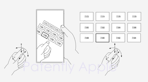 Apple reveals more about Mixed Reality Headset GUI's, how to control menus with Eye Tracking & in-air Micro Gesturing