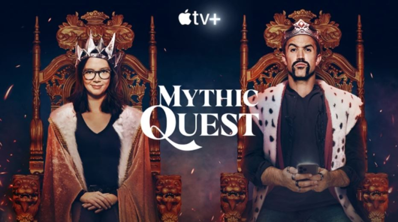 1 x cover Mythic Quest