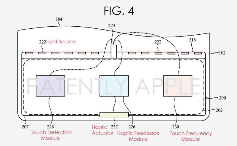2 apple granted patent dynamic input system