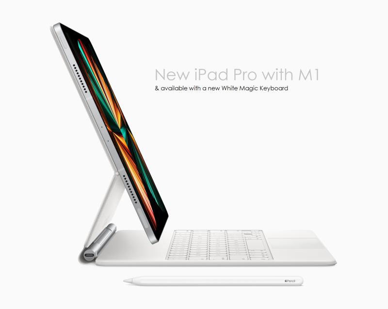 1 x COVER iPad Pro + magic-keyboard-side-white