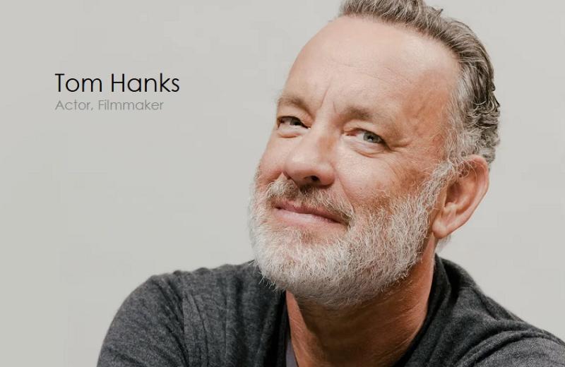 1 Cover -  Tom Hanks