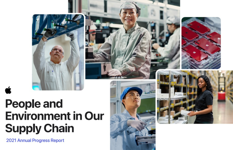 1 cover Apple supply chain report 2021