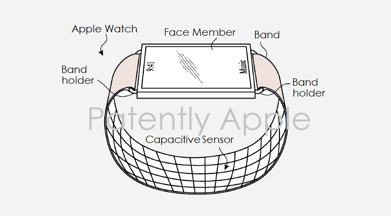 1 cover Apple Watch band patent