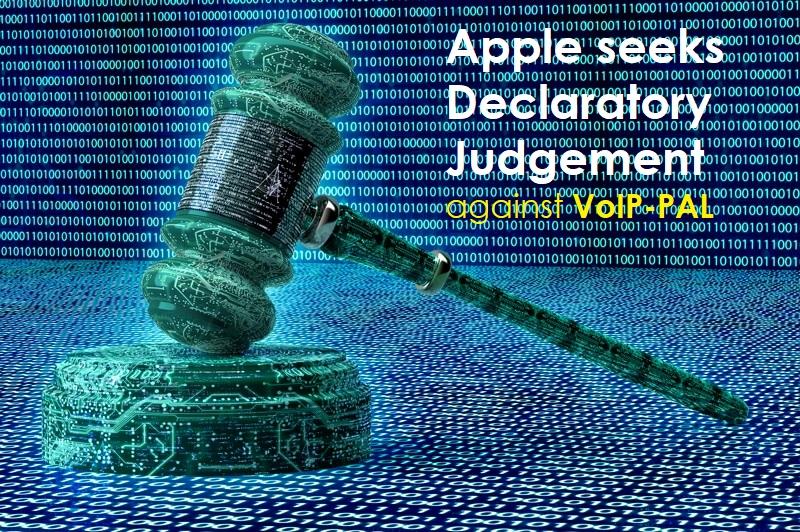 1 x cover Declaratory Judgement