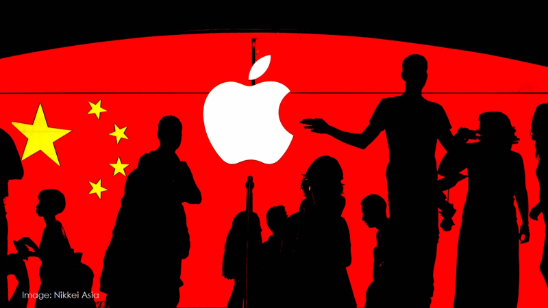 1 cover Apple in China