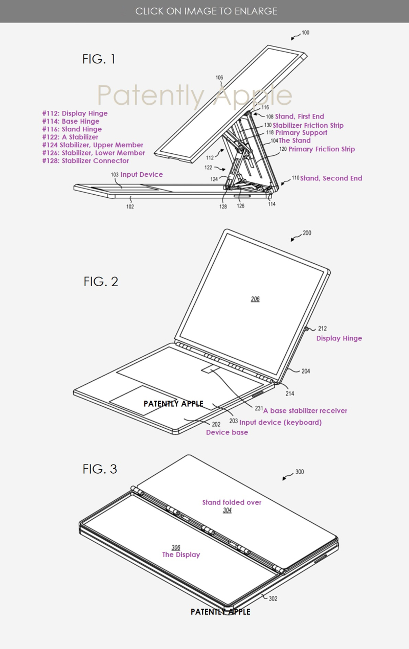 2 x Microsoft patent - possible next-gen Surface notebook - concept