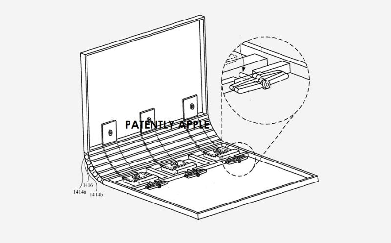 1 cover macbook hinge system granted patent