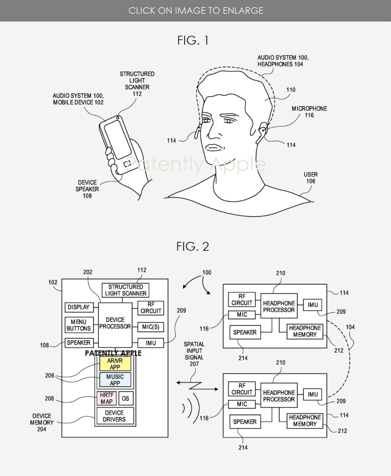 2 Apple patent figs. 1 and 2 audio related