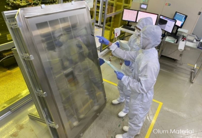 1 cover Olum Material developed new OLED display process for Samsung and LG Display