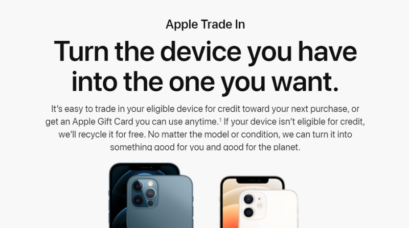 1 cover iPhone trade-in time report