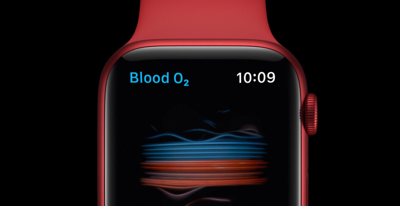 1 x  cover Apple Watch 6 Blood Oxygen feature